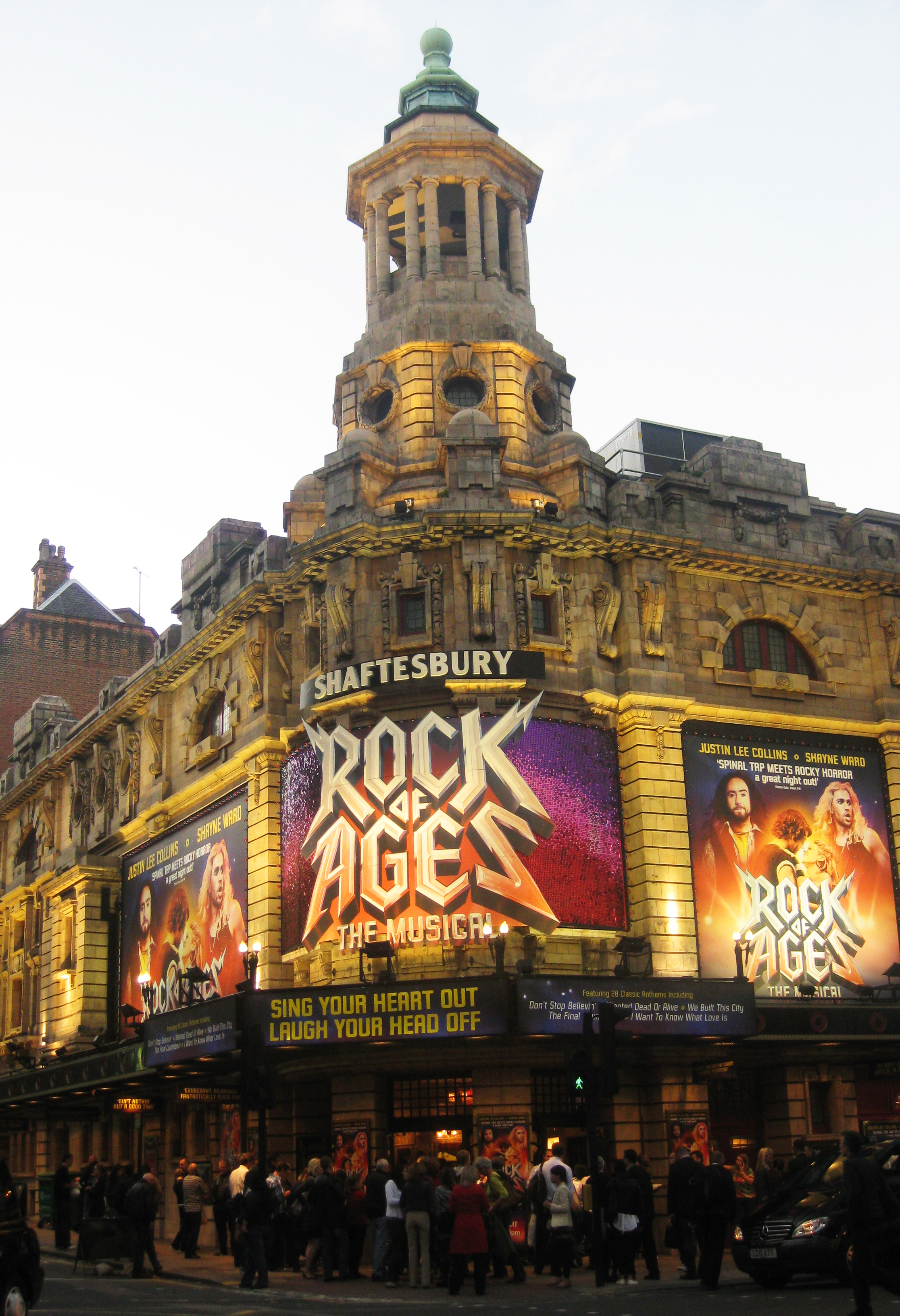 Rock of Ages Blasts onto the London Stage