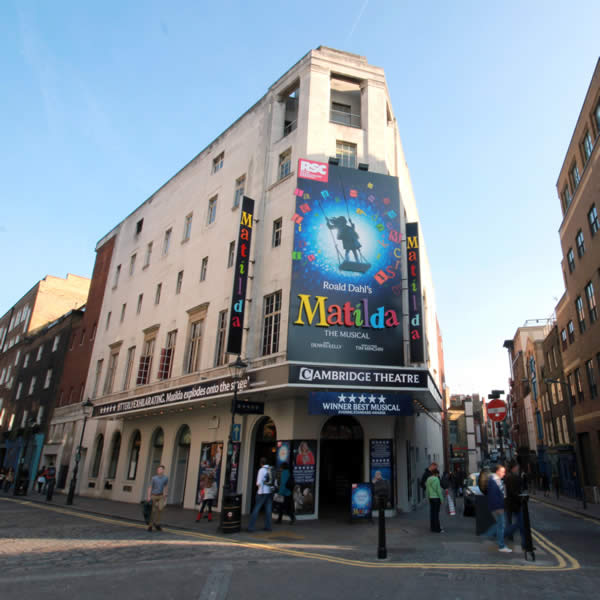 Cambridge Theatre London Official Matilda Tickets