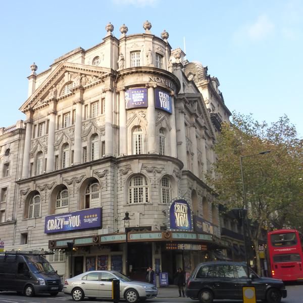 Novello theatre london official mamma mia tickets for Balcony novello theatre