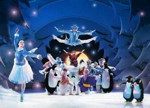The Snowman christmas scene