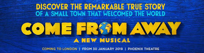 Come From Away at the Phoenix Theatre, London