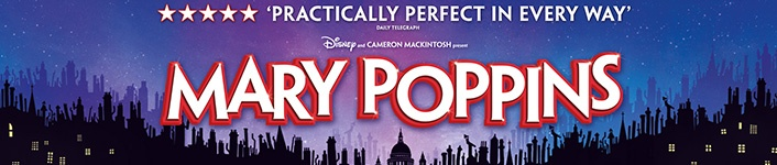 Mary Poppins the Musical banner